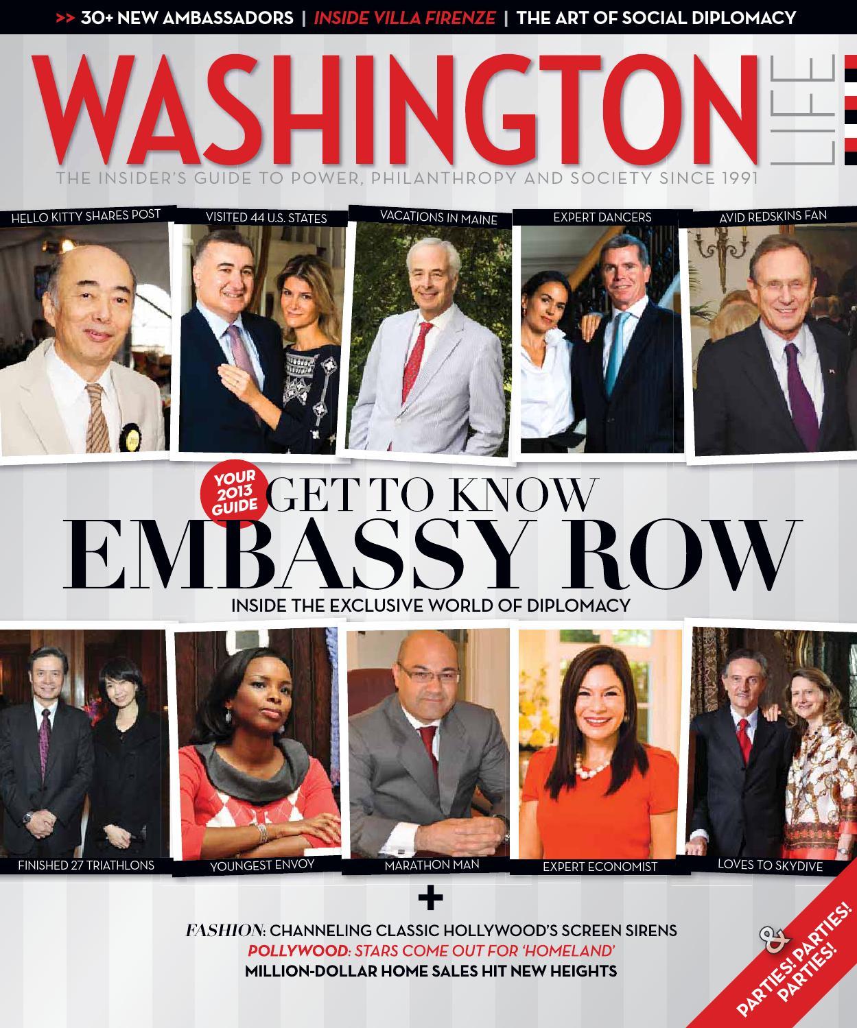 washington life magazine by washington life washington life magazine 2013