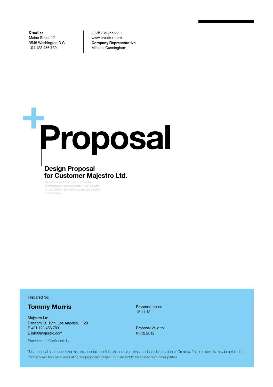 Best Proposal Format  best photos of business proposal format       how to