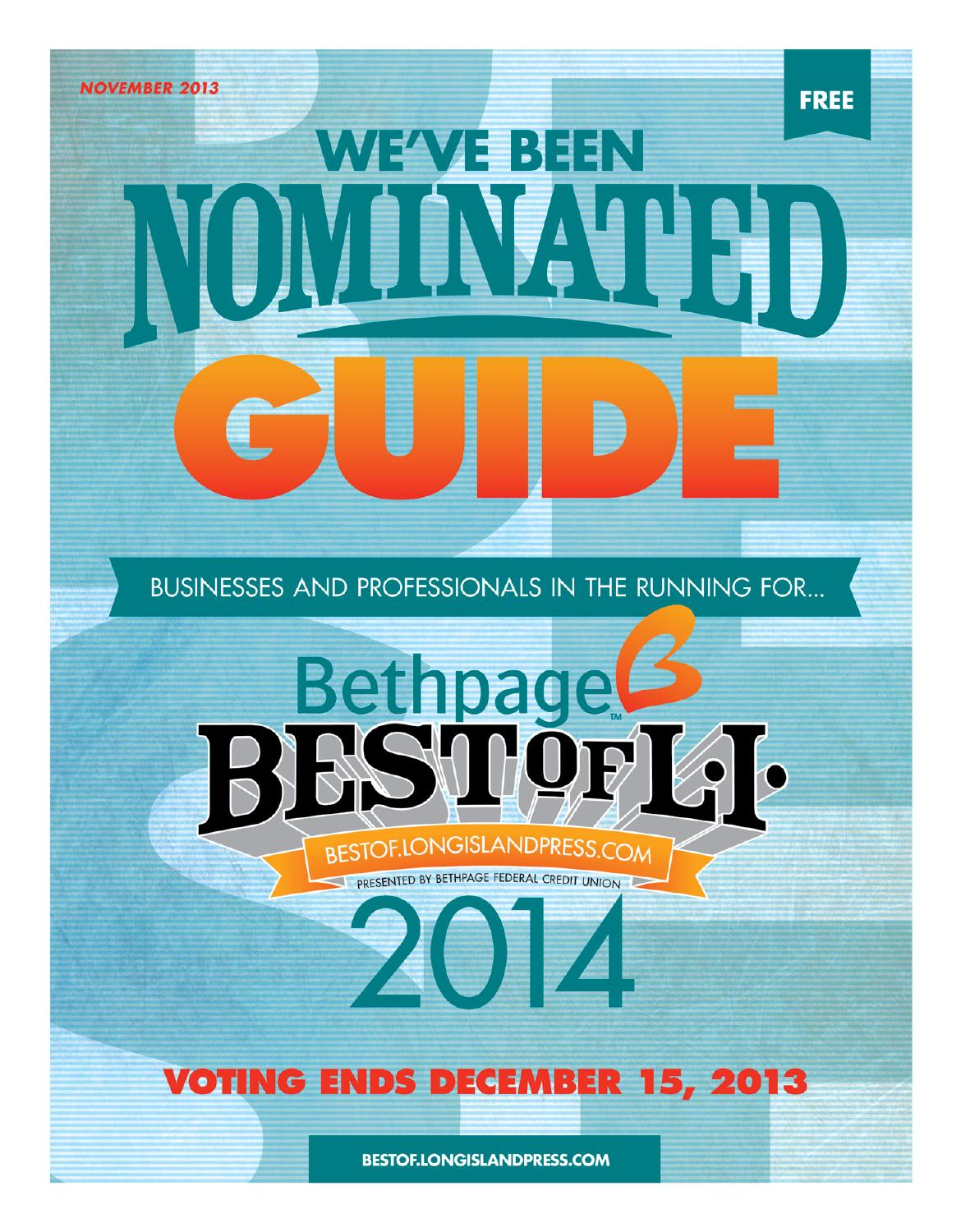 bethpage best of li nomination guide by private label issuu bethpage best of l i 2014 we ve been nominated