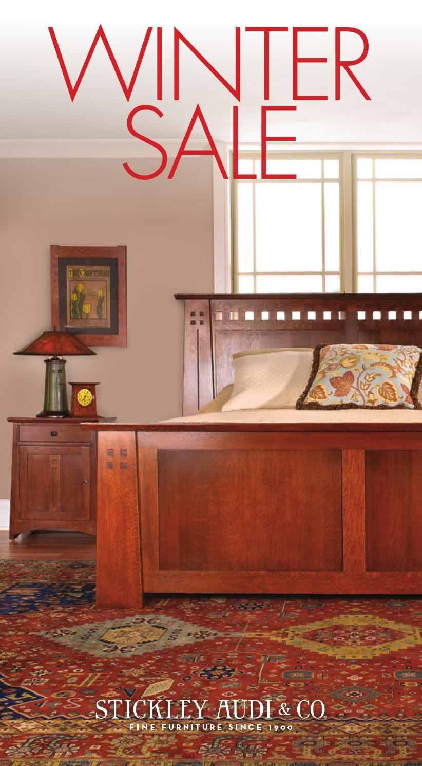 Stickley Audi Amp Co Winter Sale By Stickley Issuu