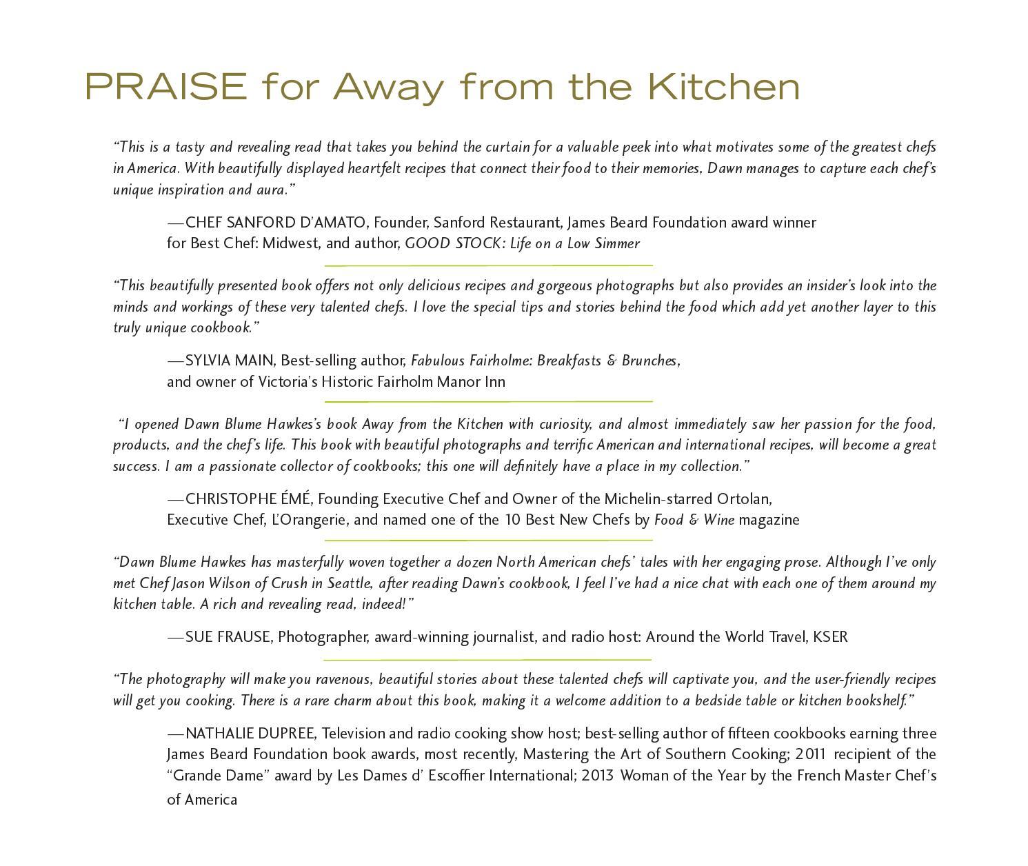 away from the kitchenshe writes press - issuu