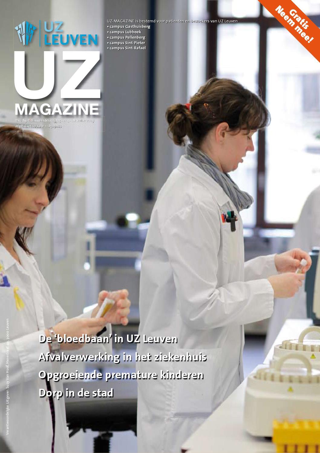 UZ-magazine september 2010 by UZ Leuven - issuu