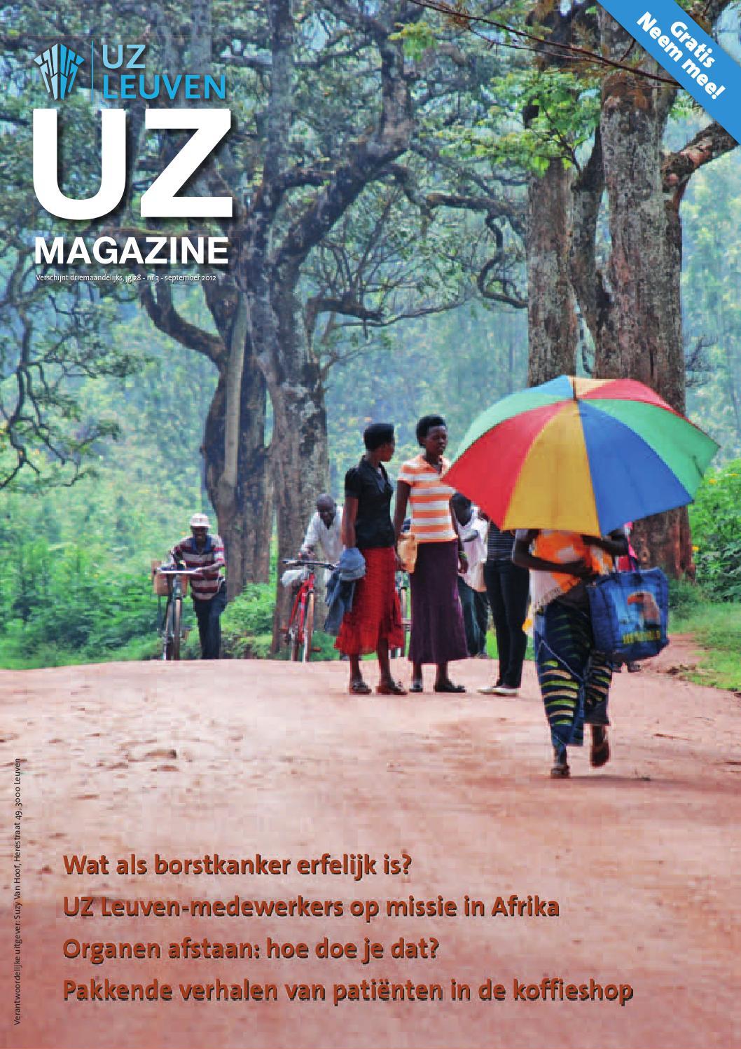 UZ-magazine september 2012 by UZ Leuven - issuu