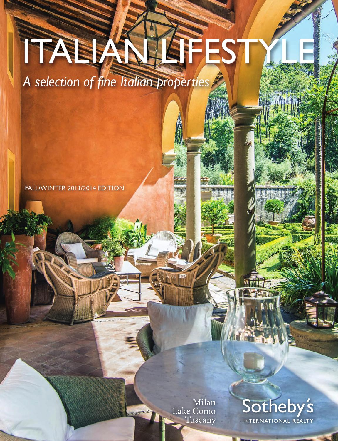 Sotheby 39 s international realty italian lifestyle fall - Tuscany sotheby s international realty ...