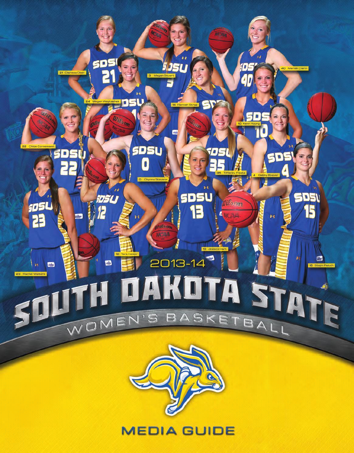 Wbb media guide 13 14 by South Dakota State University ...