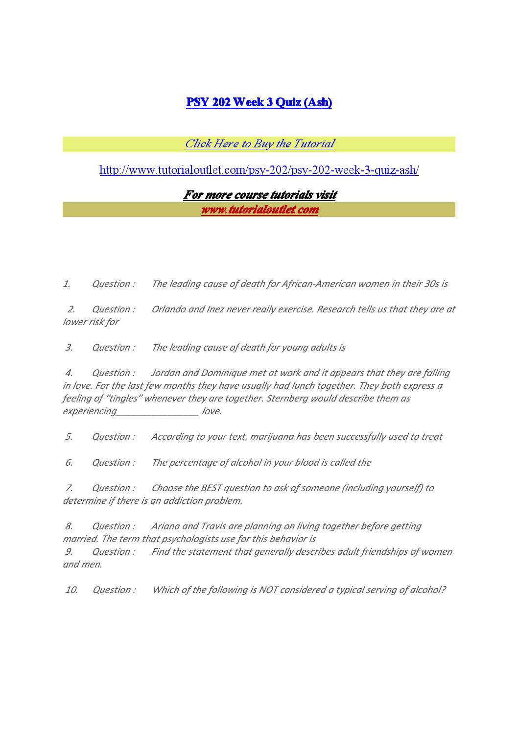 week 3 psy 202 Transcript of psy 202 psy/202 psy202 week 3 discussion 1/dq 1 assessing strengths and weaknesses {latest.