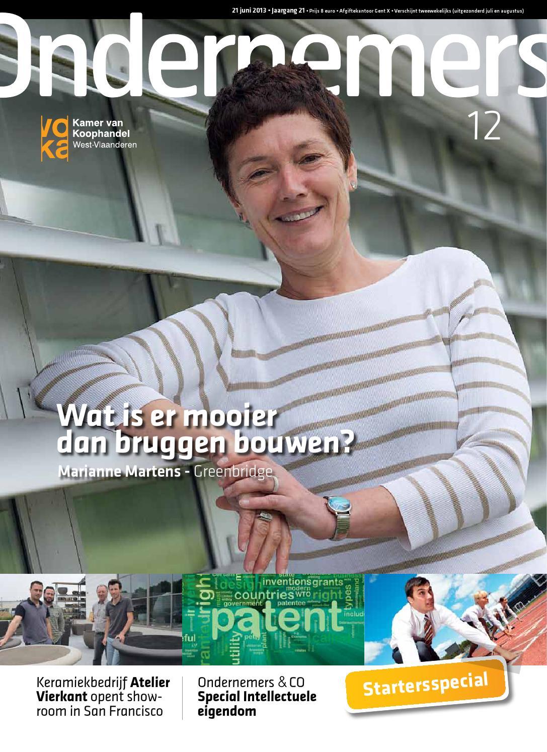 Ondernemers 15-2012 by Bart vandaele - issuu