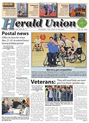 Herald Union - Nov. 21, 2013