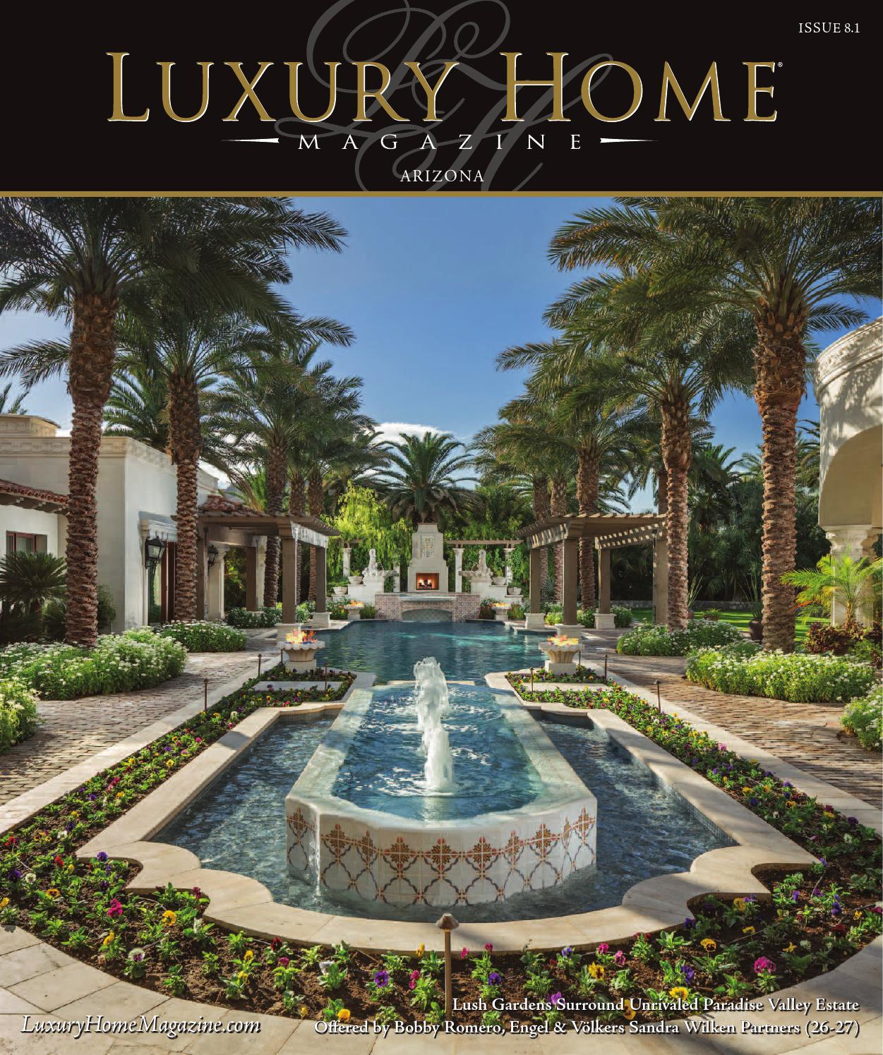 Luxury Homes On The Water: Luxury Home Magazine Arizona Issue 8.1 By Luxury Home