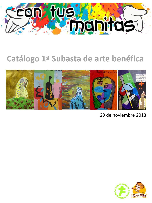 Cat logo subasta con tus manitas 29 11 2013 by esther - Bonanova subastas catalogo ...