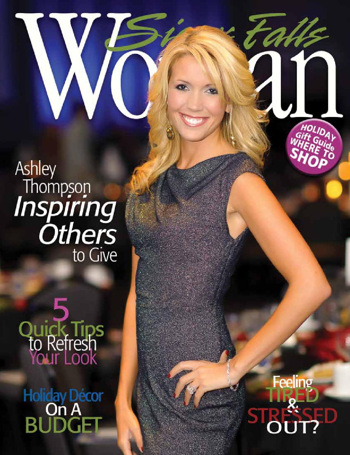 Sioux Falls Woman Magazine Holiday 2013 by Sioux Falls Woman