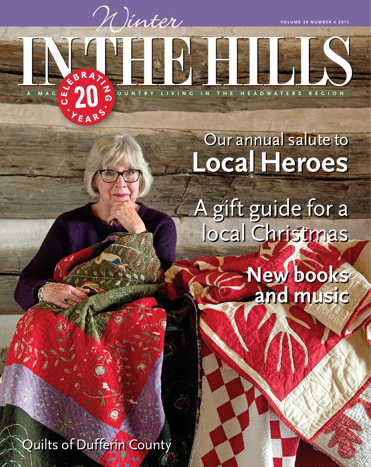 Winter in the hills 2013 by in the hills magazine   issuu