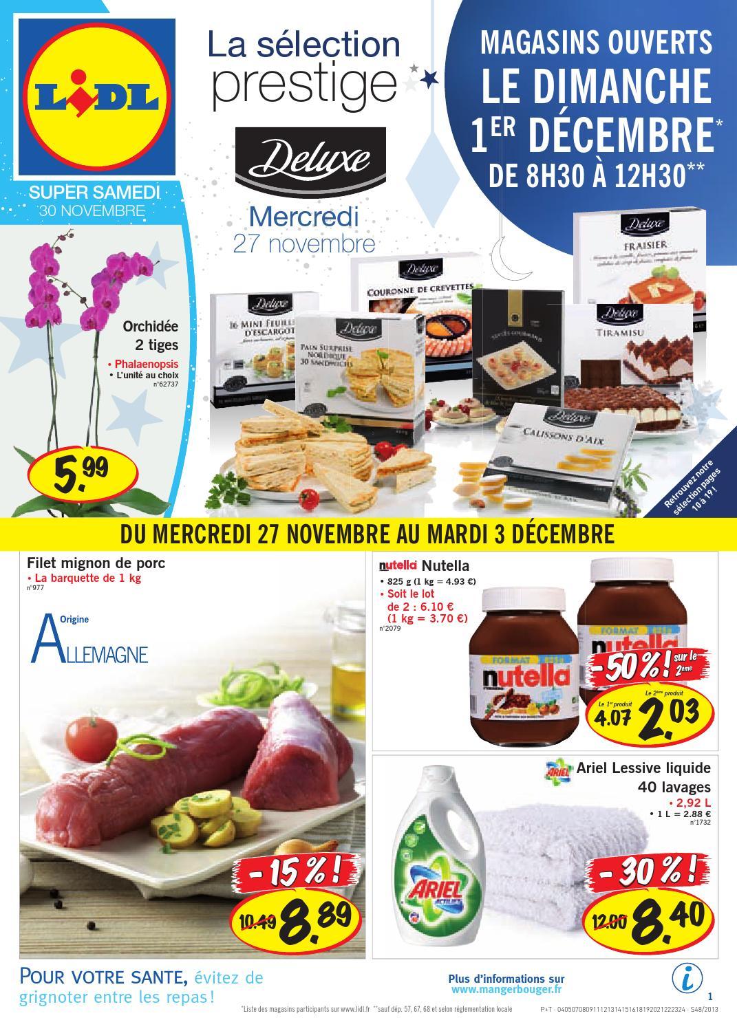 Lidl Catalogue 27novembre 3decembre2013 By Promocatalogues