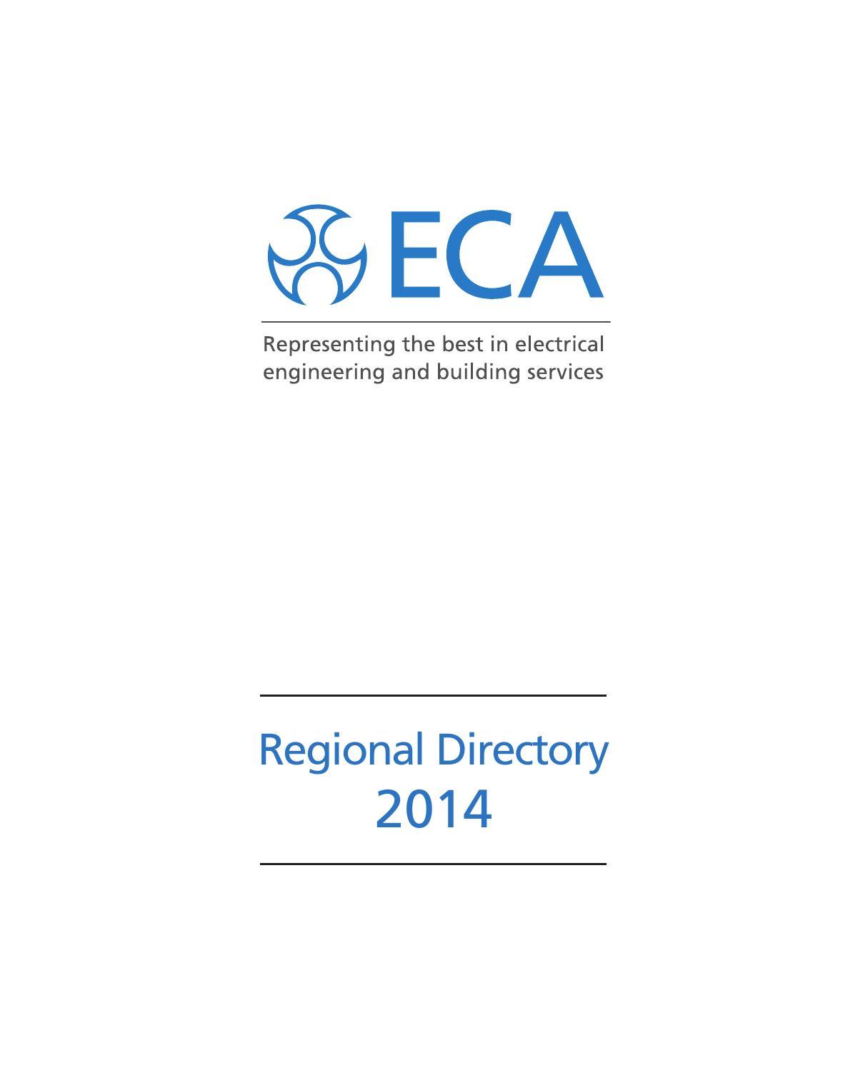 Eca Regional Directory 2014 By Eca1 Issuu