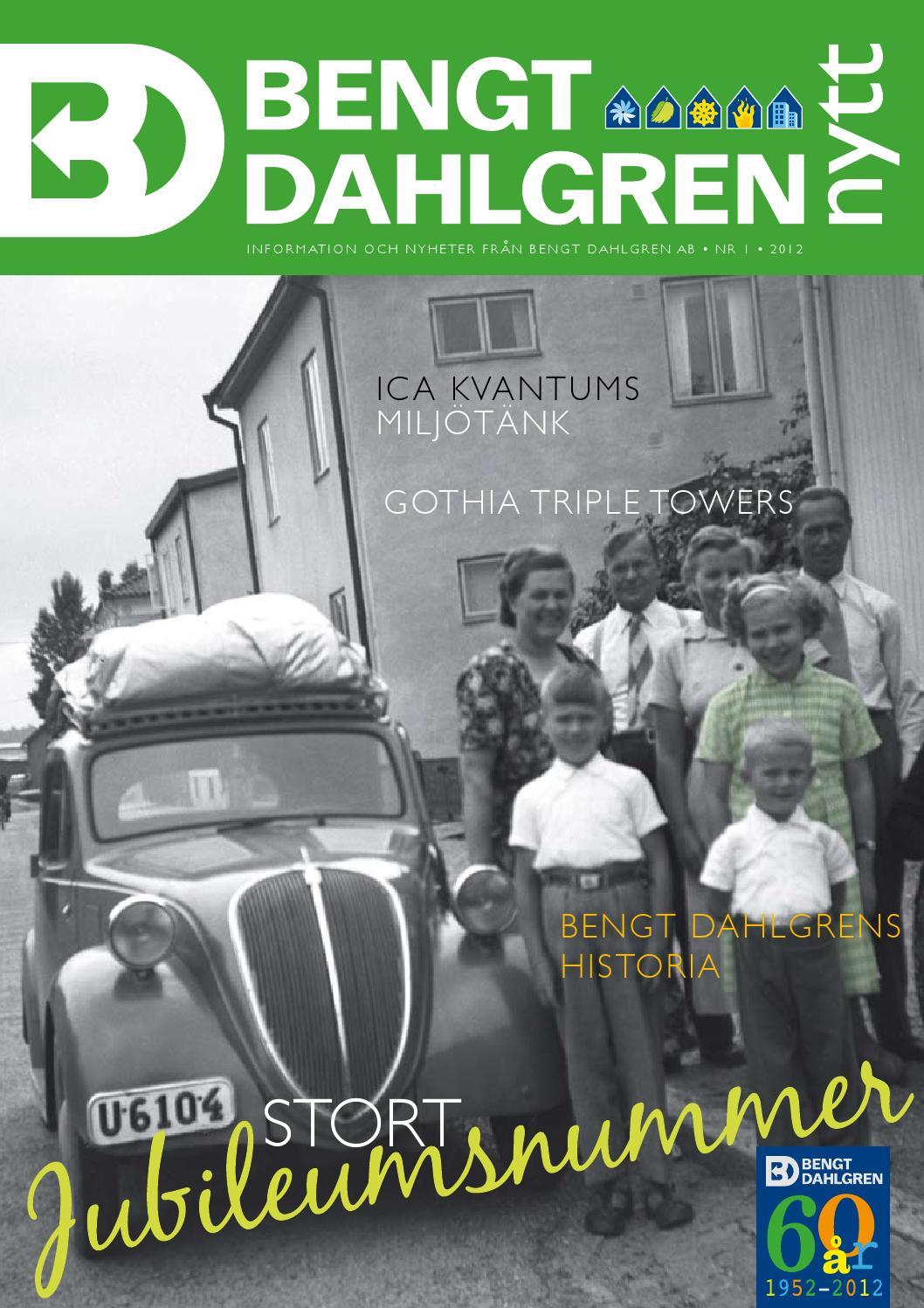 Bengt dahlgren nytt 1   2014 by bengt dahlgren ab   issuu
