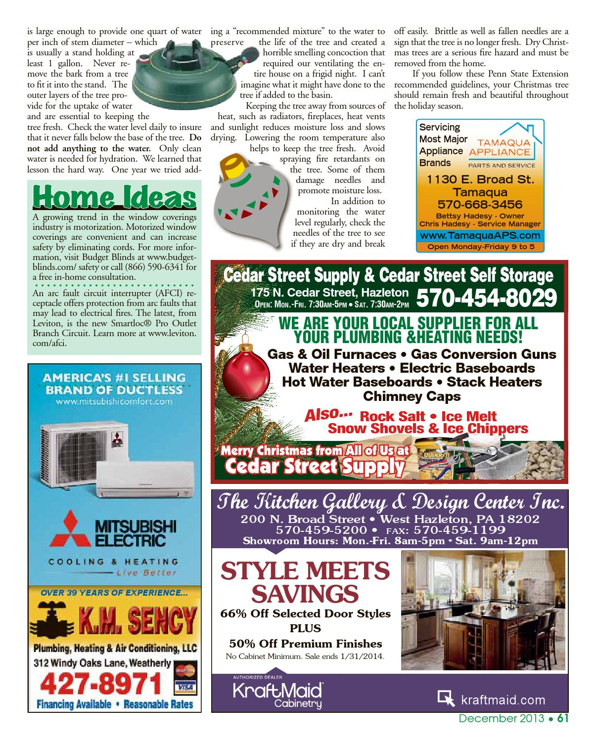 Kitchen gallery design center north broad street west hazleton pa - December 2013 Panorama Community Magazine By Panorama Community Magazine Page 61 Issuu