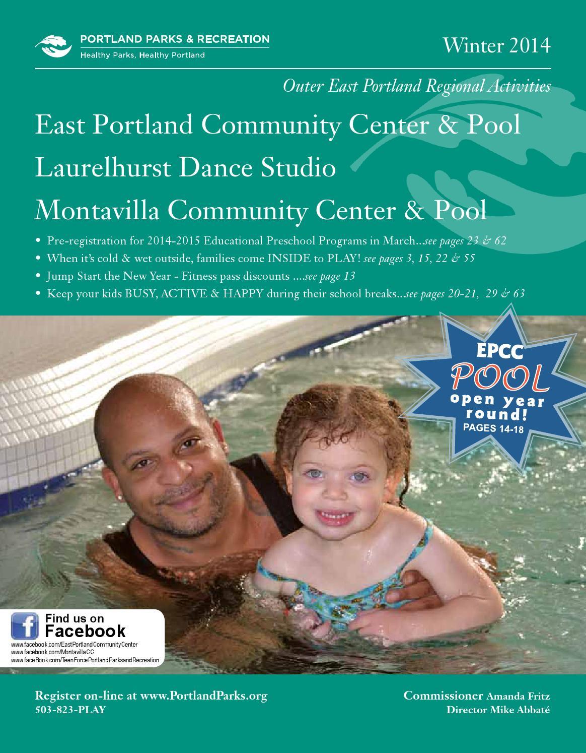 East Portland Community Center Winter 2014 By Portland Parks Recreation Issuu