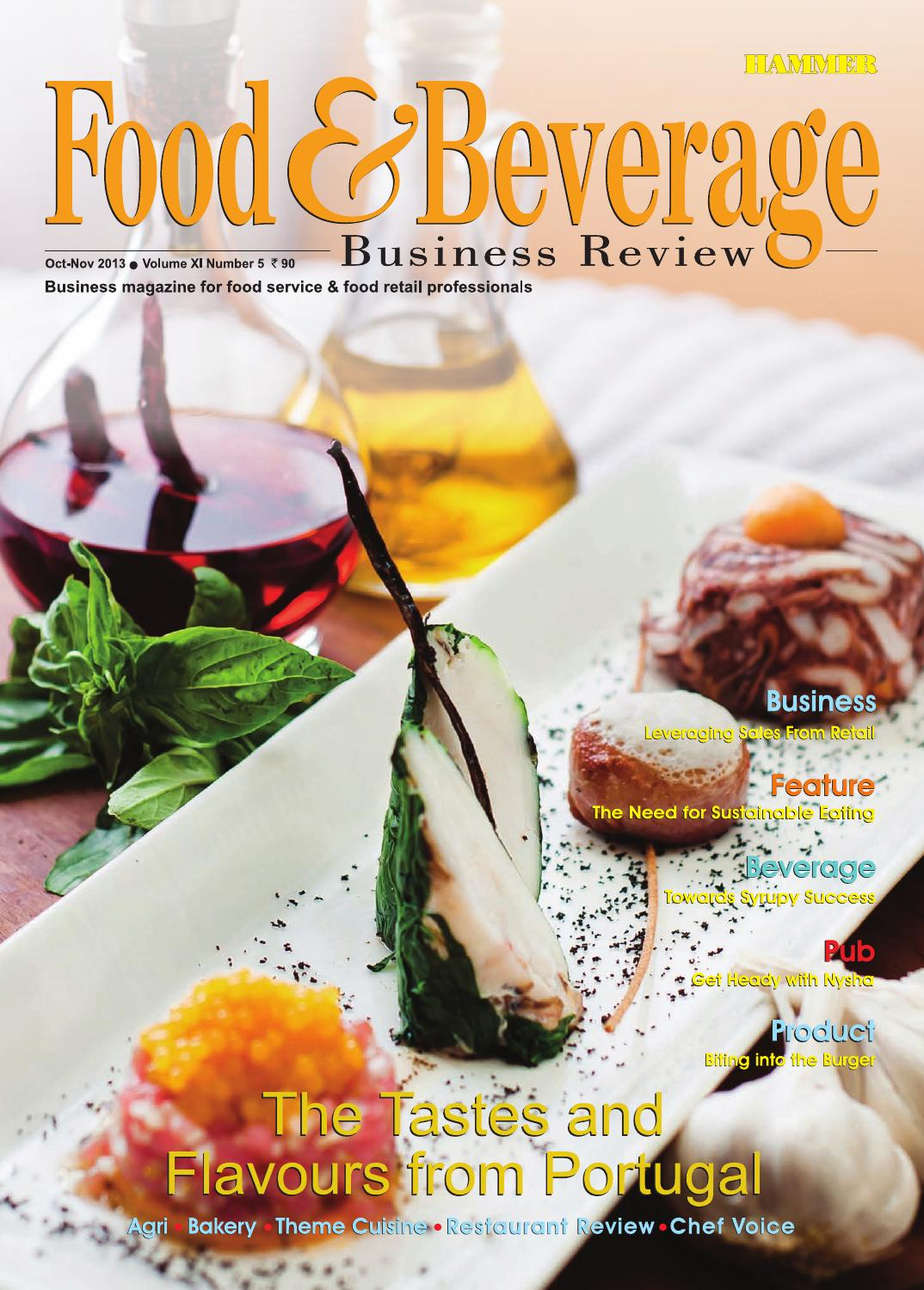 Food Amp Beverage Business Review Oct Nov 13 The Magazine