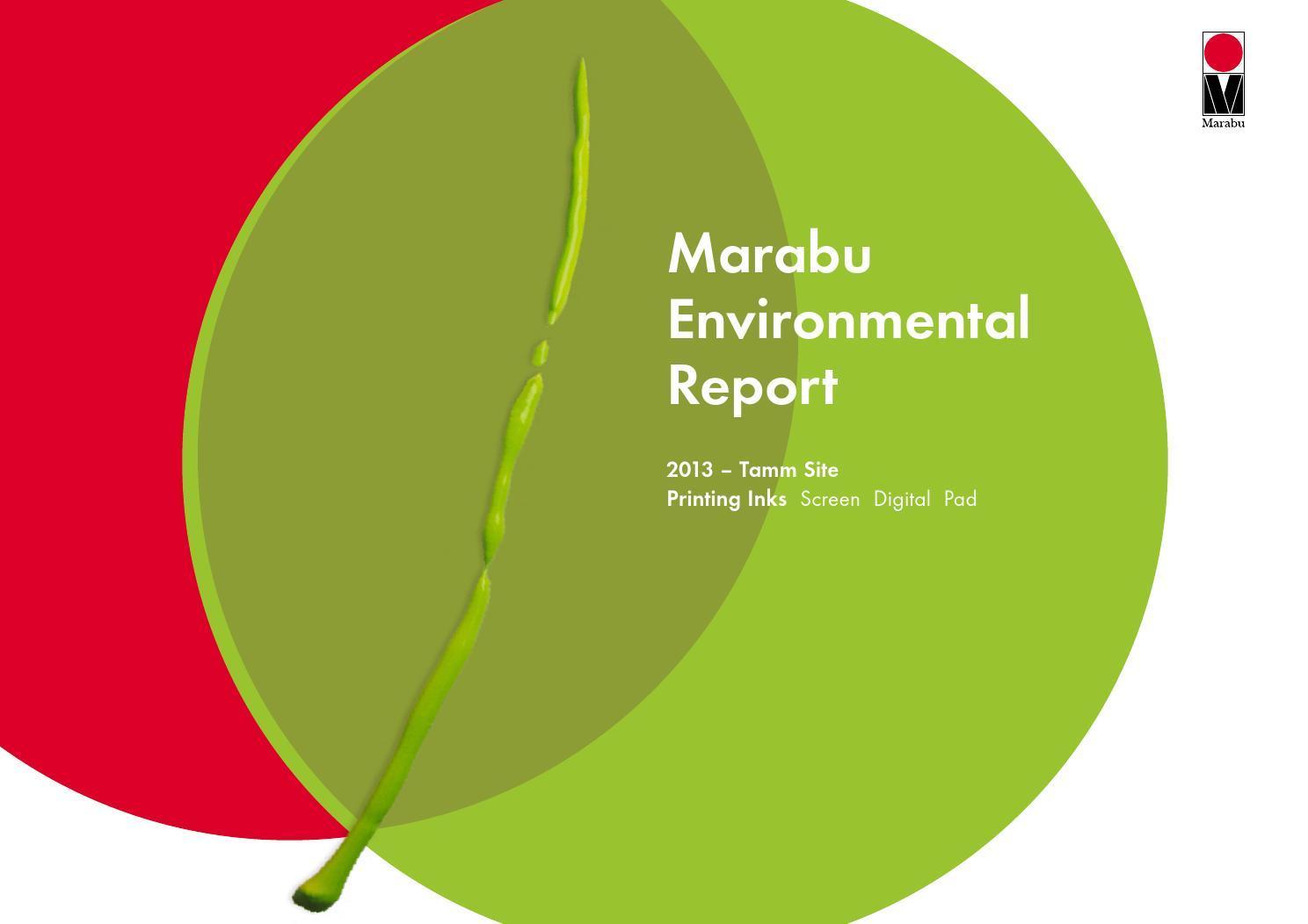 relat rio ambiental marabu 2013 by marabu gmbh co kg issuu. Black Bedroom Furniture Sets. Home Design Ideas