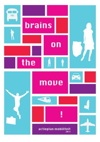 Brains on the move - actieplan mobiliteit 2013