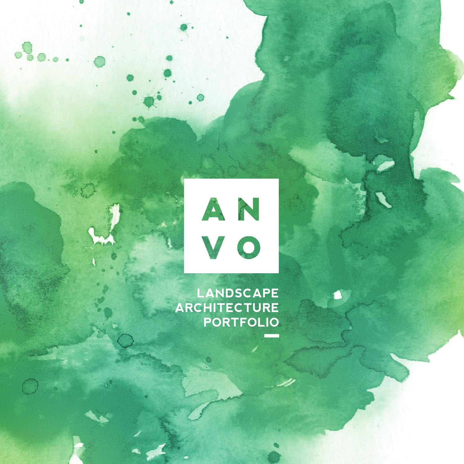 Landscape Architecture Portfolio By An Vo Issuu