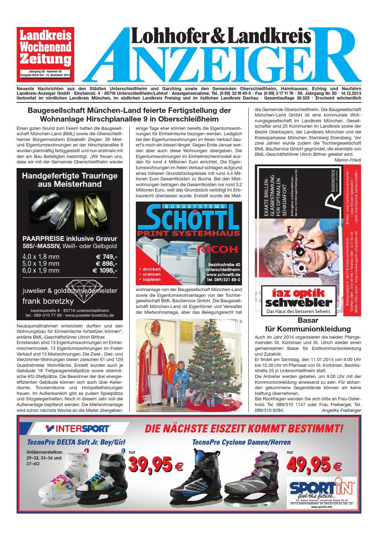 lohhofer landkreis anzeiger 50 by zimmermann gmbh druck