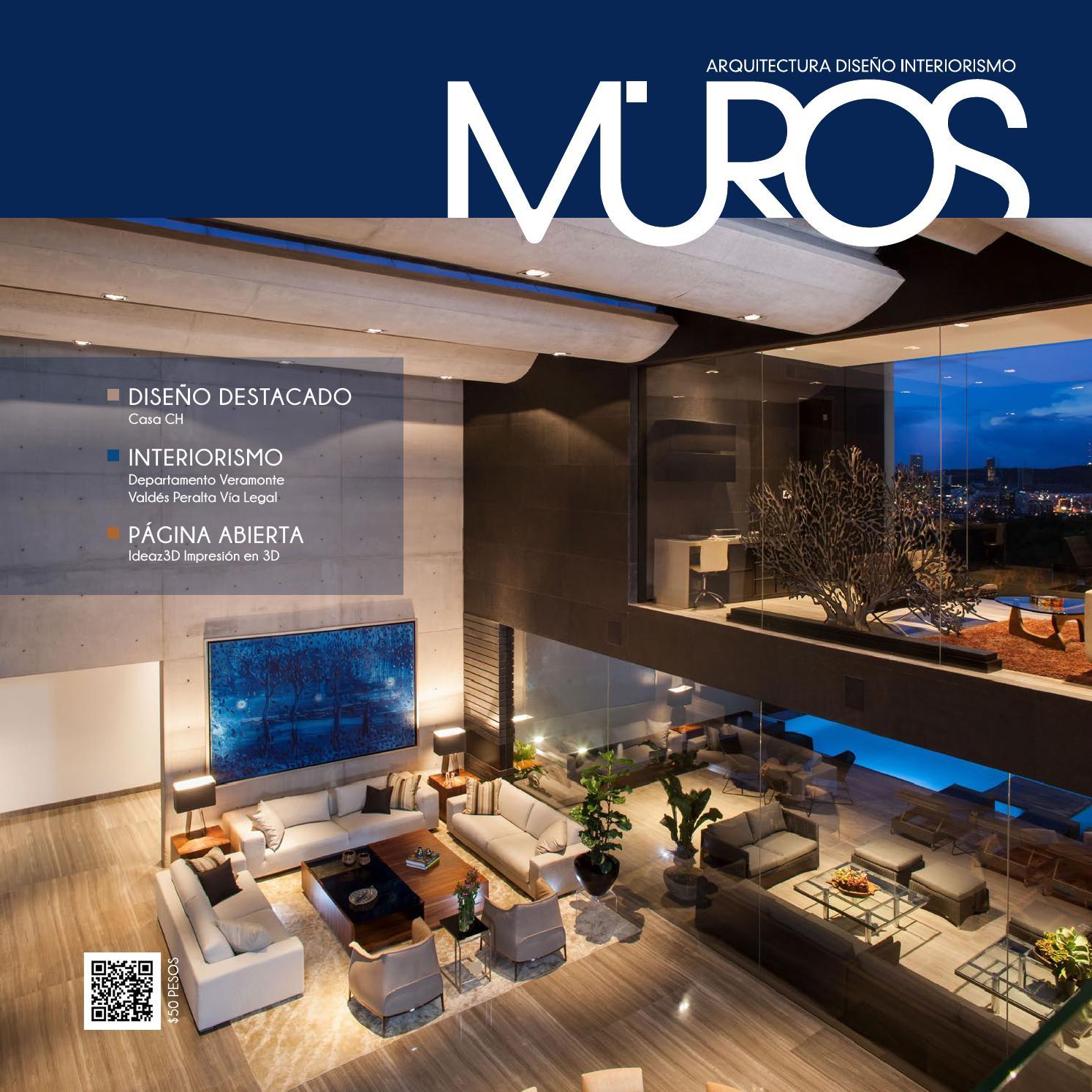 Edici n 8 revista muros arquitectura dise o interiorismo for Paginas de construccion y arquitectura