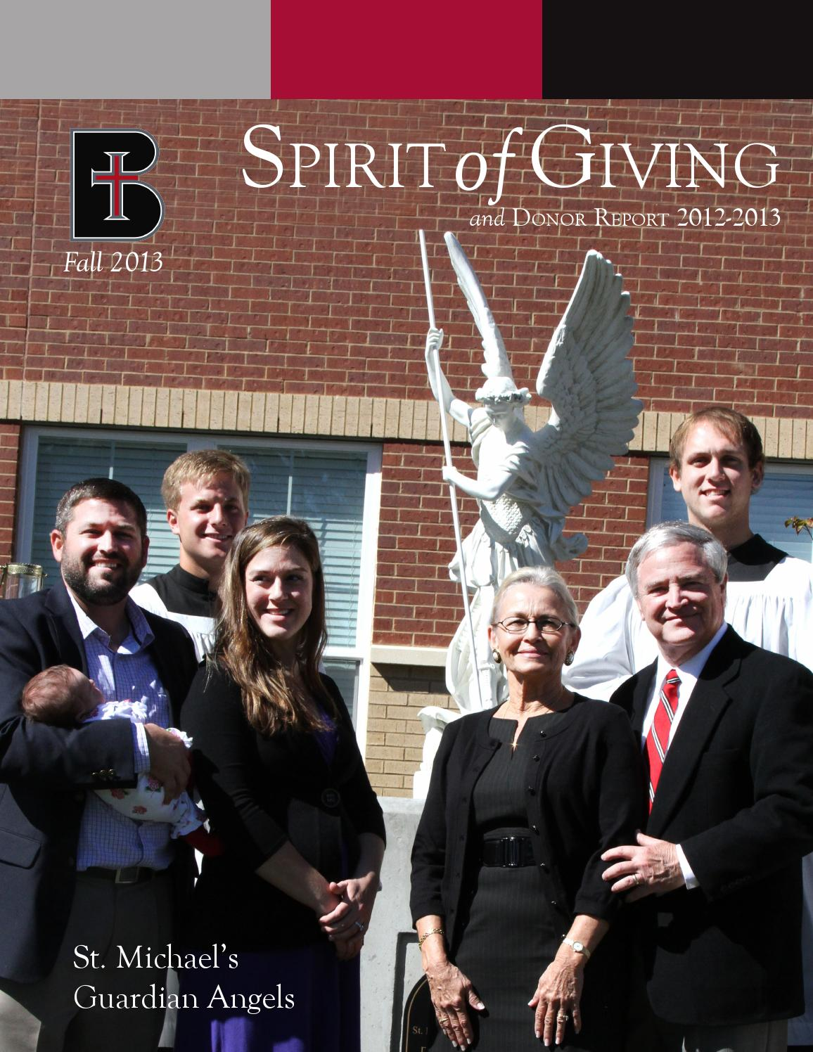 Language In 45 And 47 Stella Street: Spirit Of Giving, Fall 2013 By Benedictine College