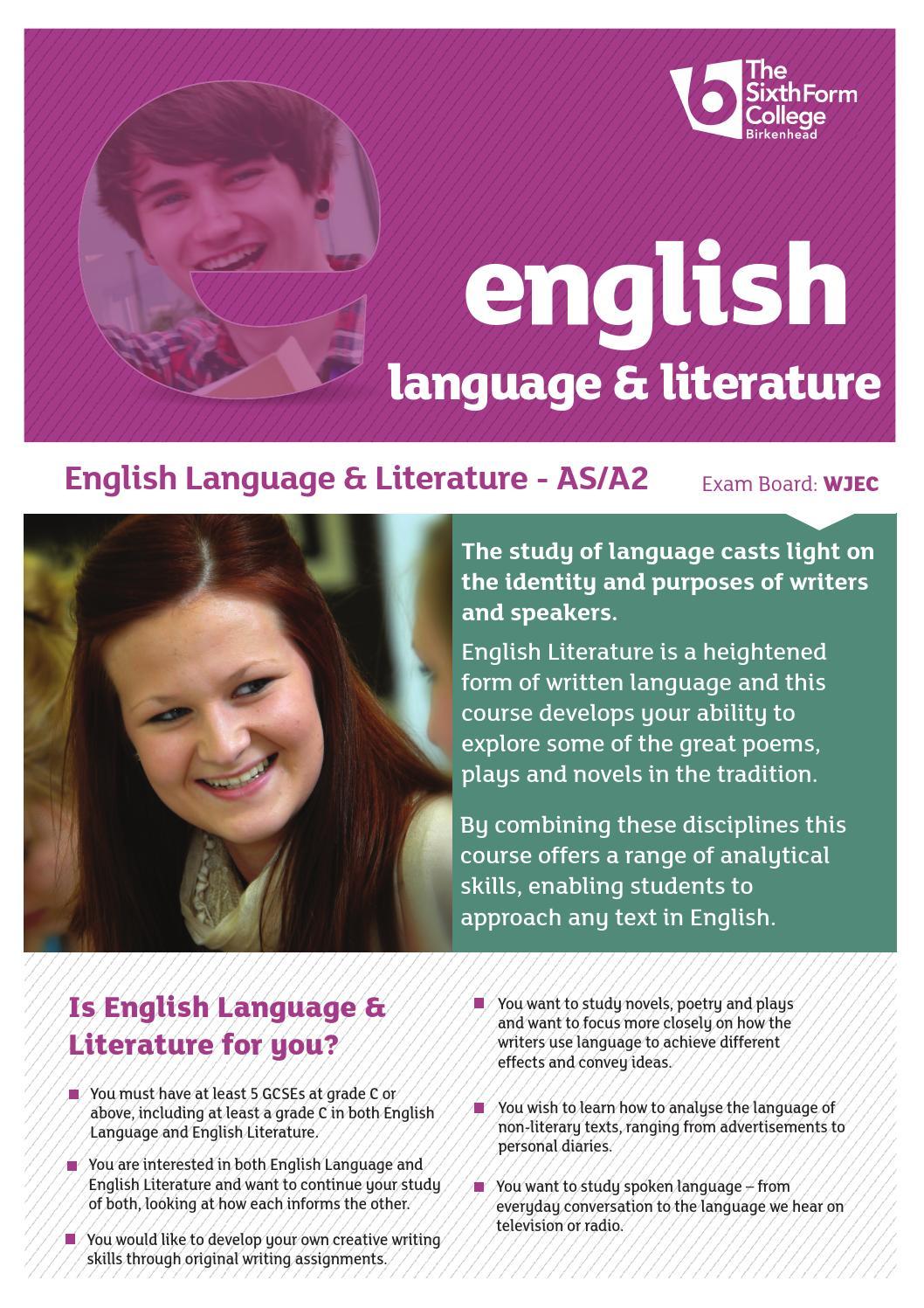 English language and literature by Schudio - issuu