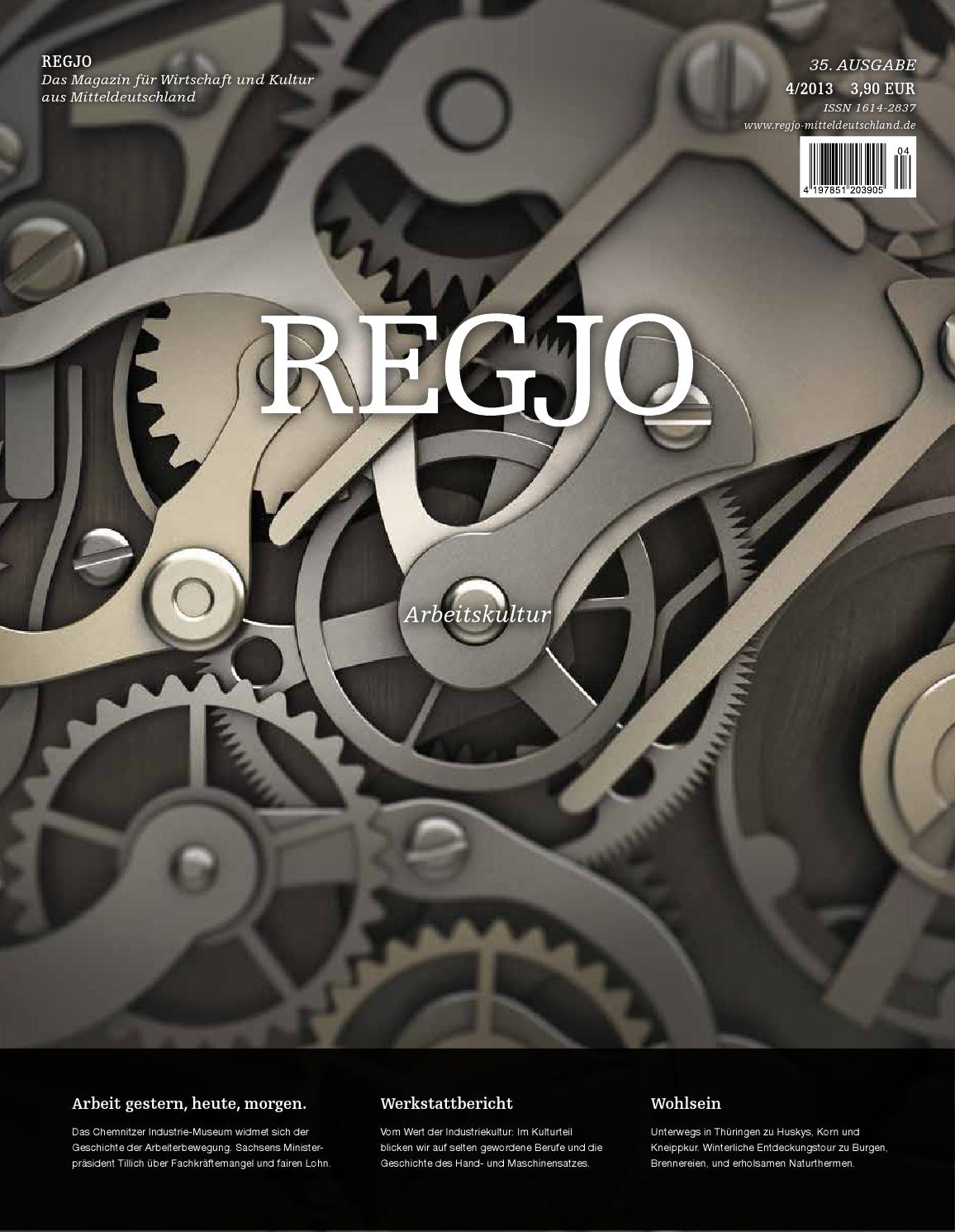 REGJO 01/2013 by REGJO Magazin Verlag Mitteldeutschland - issuu