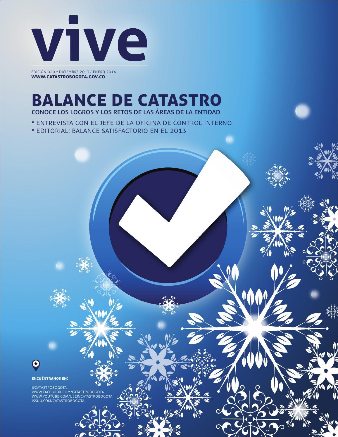 Vive la revista diciembre 2013 enero 2014 by catastro for Oficina de catastro