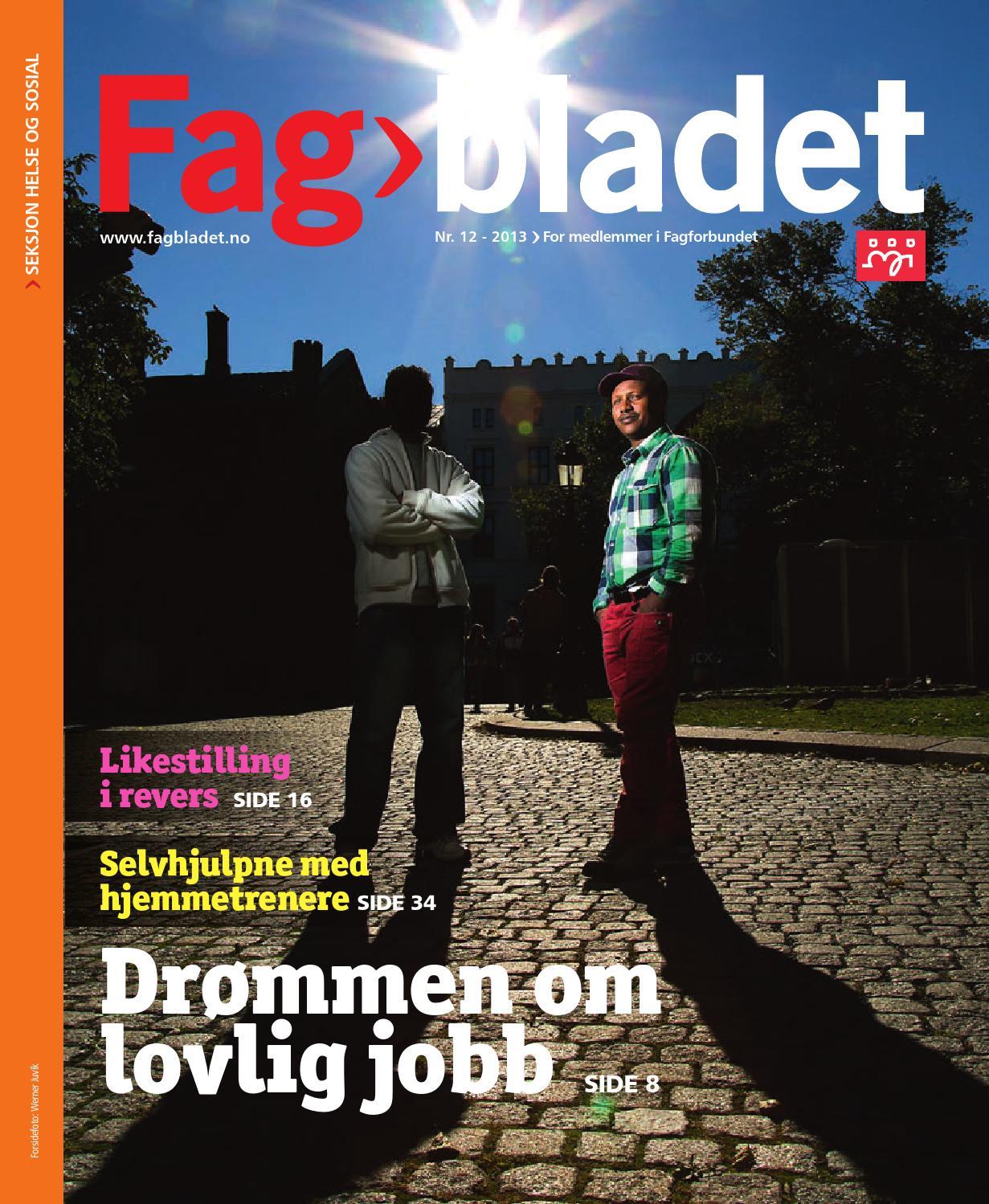 Fagbladet 2013 12 - HEL by Fagbladet - issuu