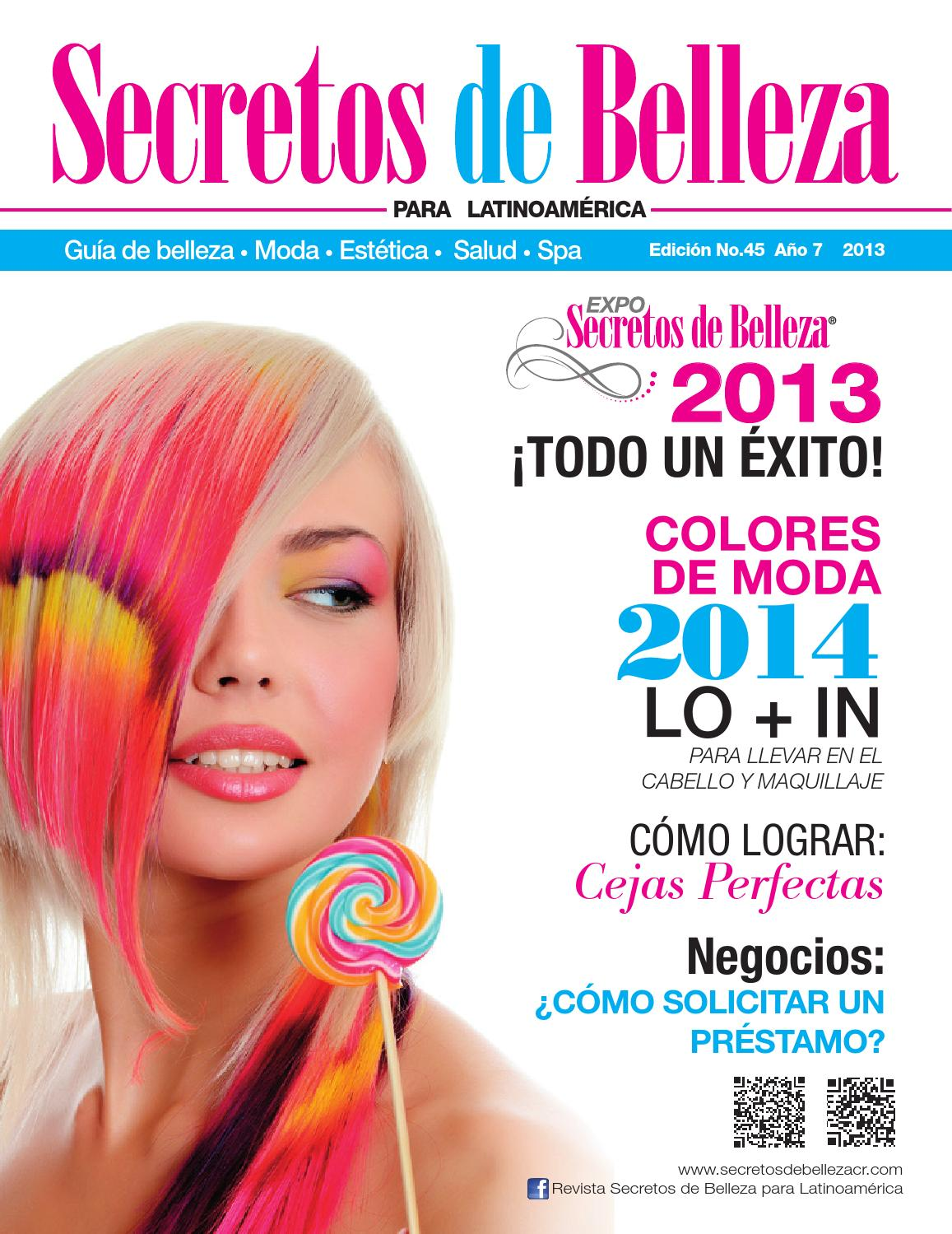 Revista Secretos de Belleza para Latinoamerica | Ed. 45 ...