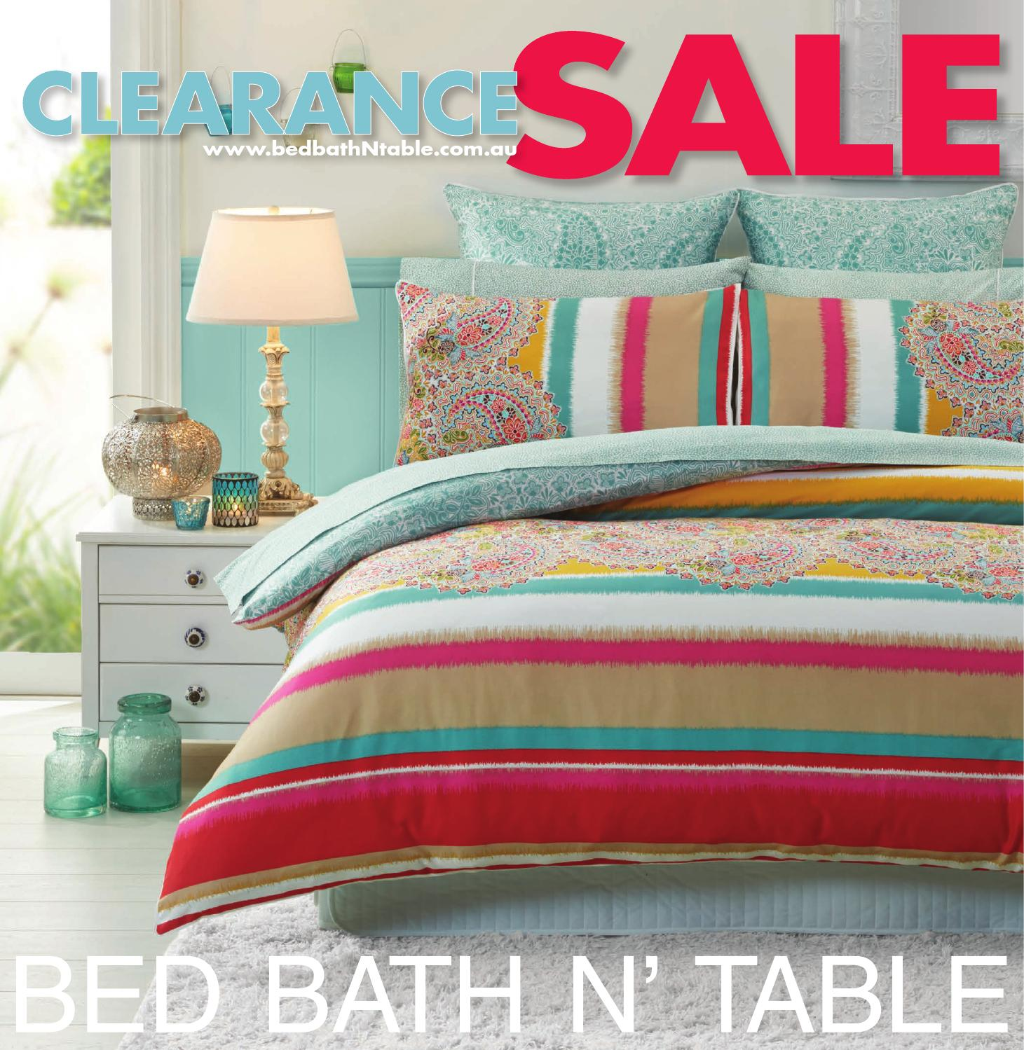 Bed Bath N Table Clearance Sale Catalogue By Bed Bath N