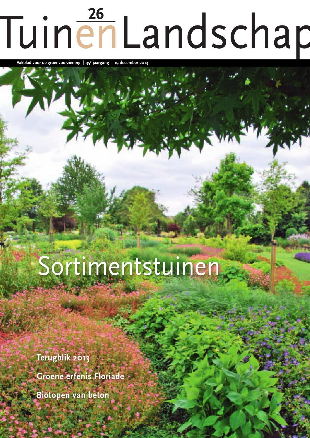 Tuin en landschap 26 by stichting vakinformatie siergewassen   issuu