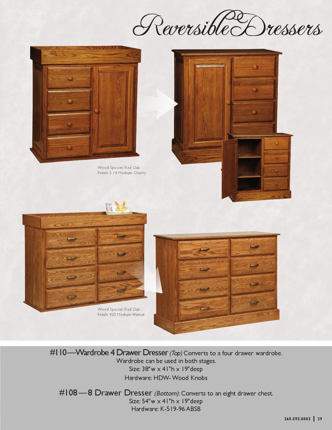 2013 Old Town Oak Catalog Baby Furniture E G Amish Furniture By E G Amish Furniture