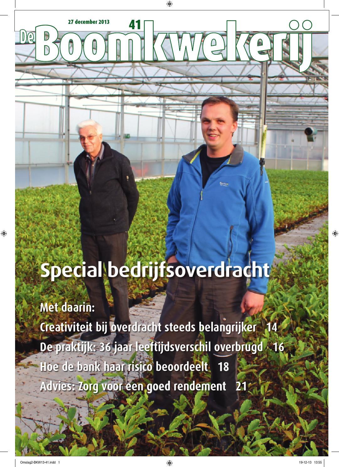 Boomkwekerij 36 2013 by stichting vakinformatie siergewassen   issuu