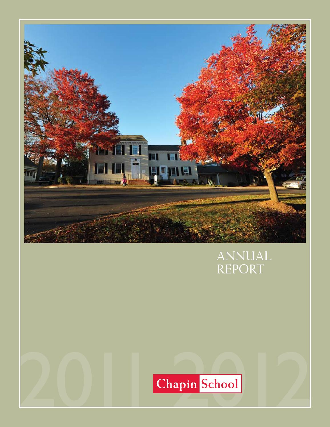 Annual Report of Gifts, 2015-16 by Riverdale Country School - issuu