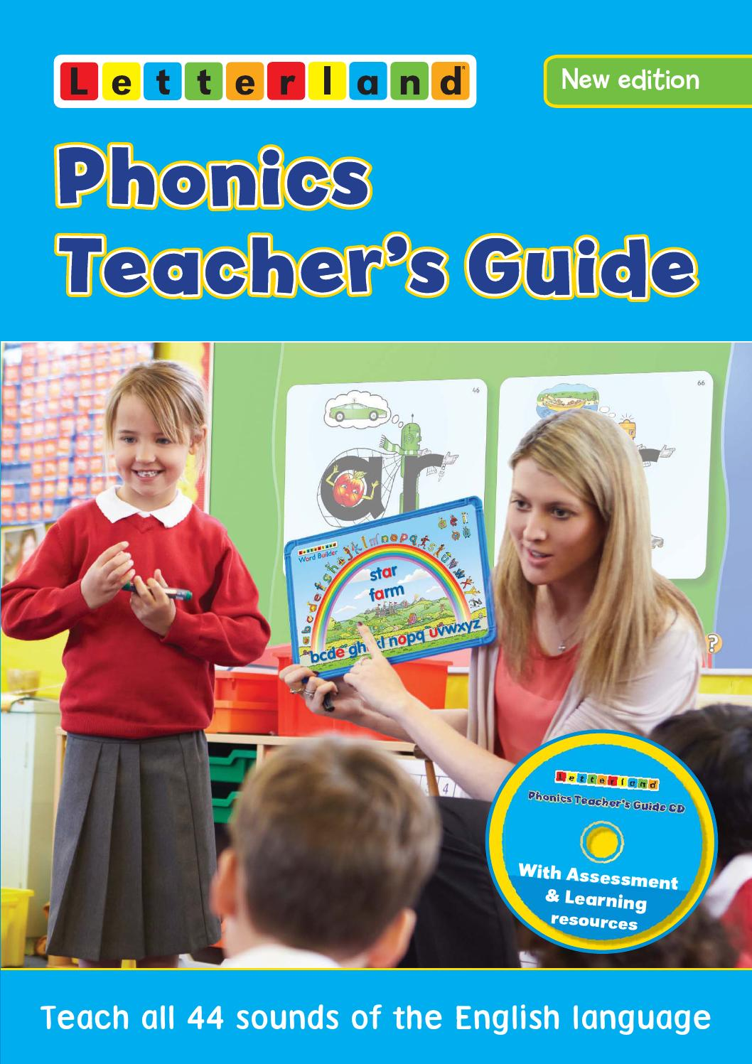 phonics teacher u0026 39 s guide by letterland
