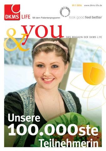 DKMS LIFE &you - Ausgabe 1 2014