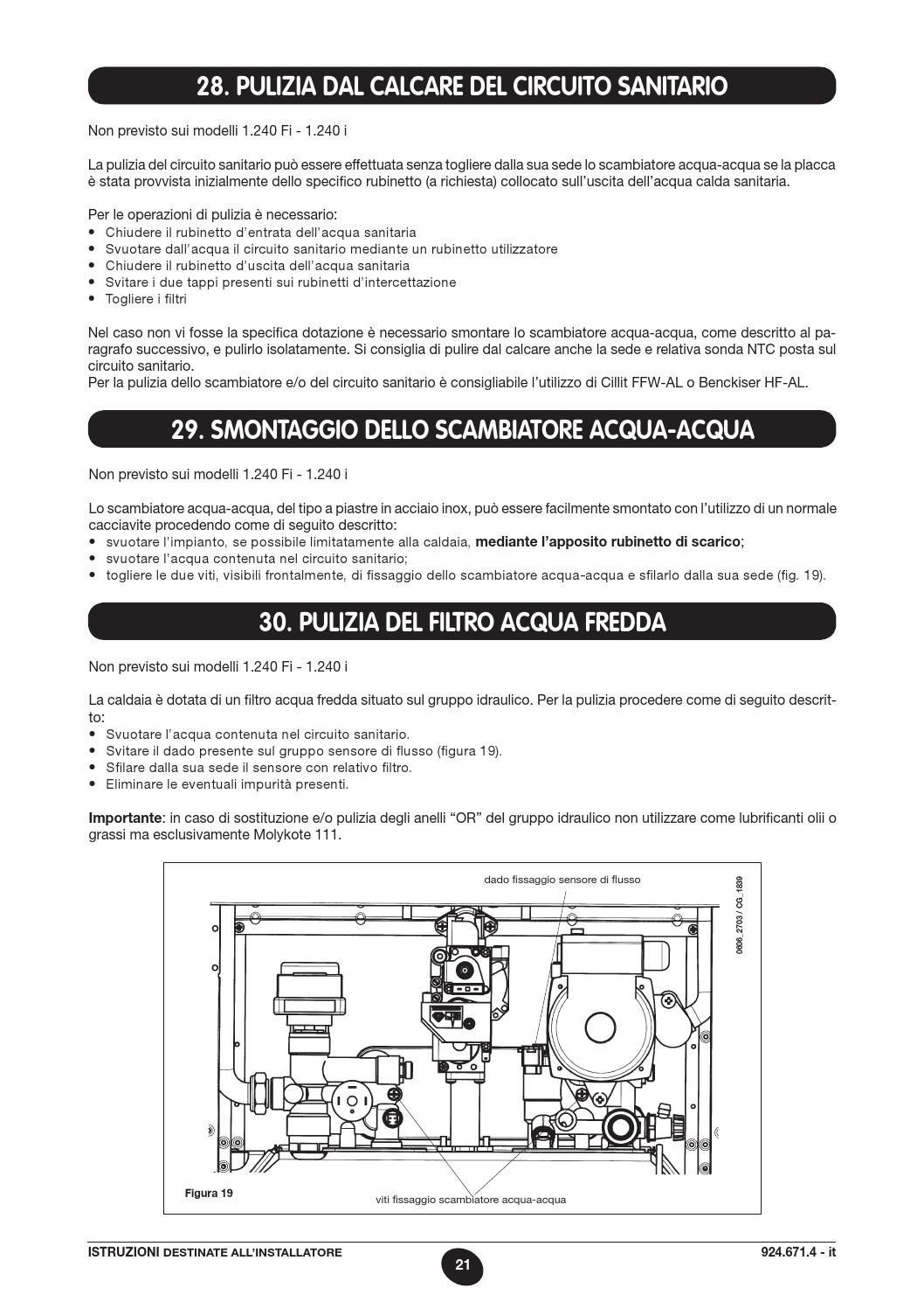Manuale eco 3 baxi by baxi spa page 21 issuu for Baxi eco 3 manuale