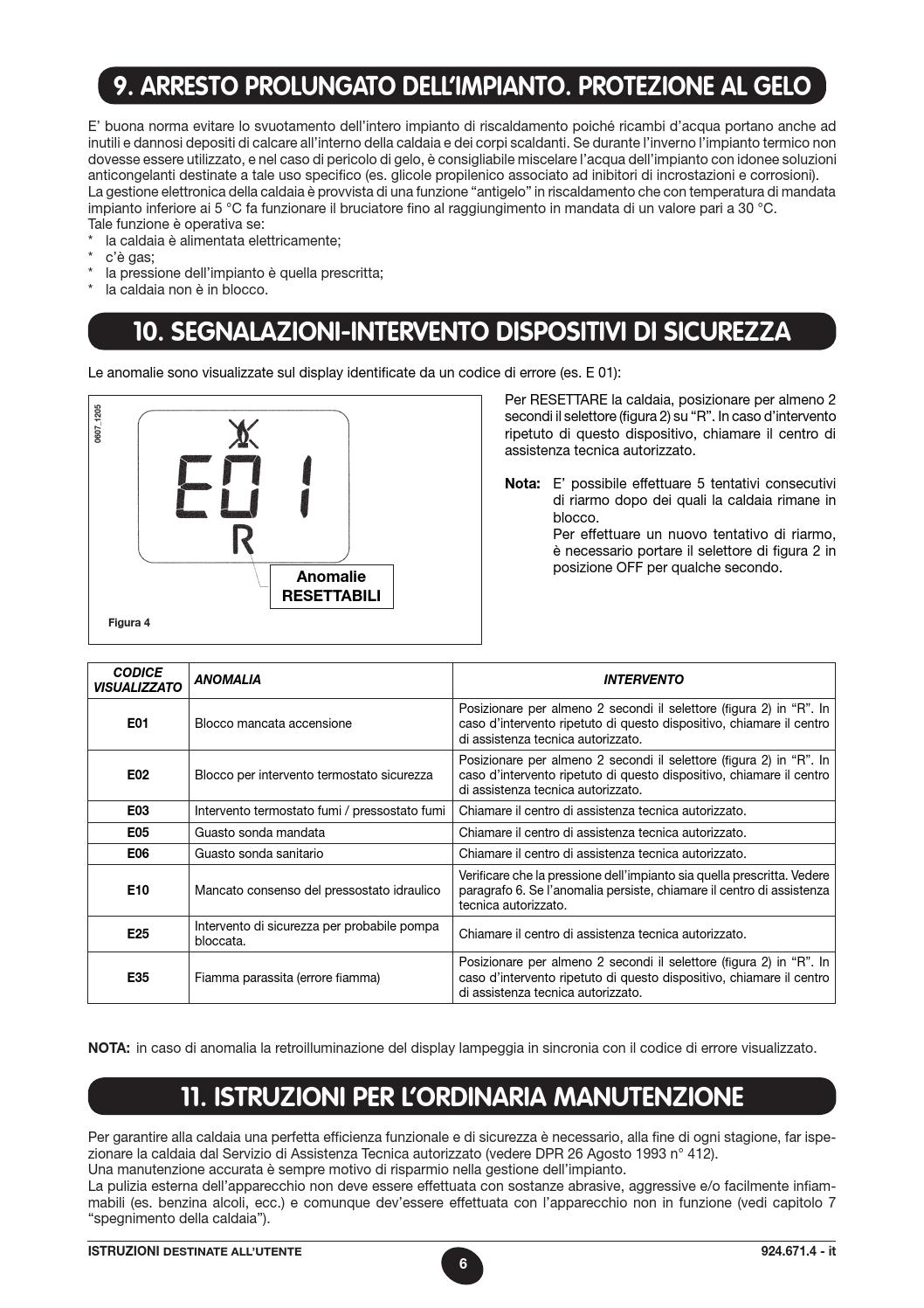 Manuale eco 3 baxi by baxi spa page 6 issuu for Baxi eco 3 manuale