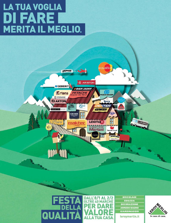 Volantino leroy merlin dall 39 8 gennaio al 2 febbraio 2014 for Volantino bagno leroy merlin