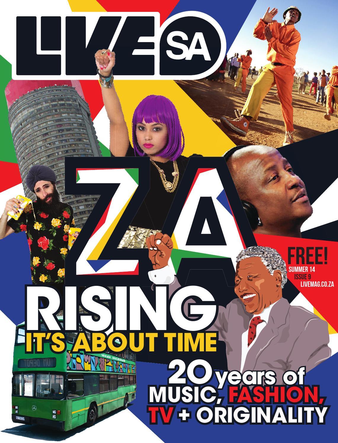 Live Magazine SA Issue 9 (Summer 2014) by LivityAfrica - issuu