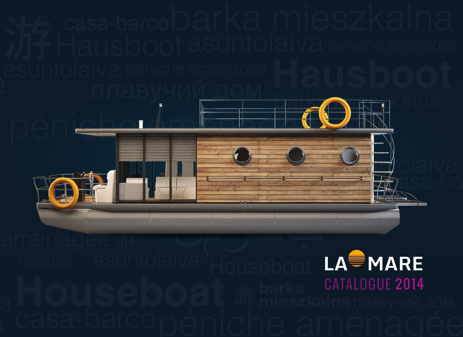 La Mare Houseboats By 66446 Issuu