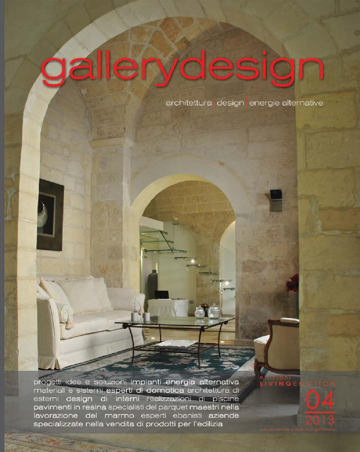 Rivista gallery design 2013 by rivista gallery design issuu for Arredamenti francavilla fontana