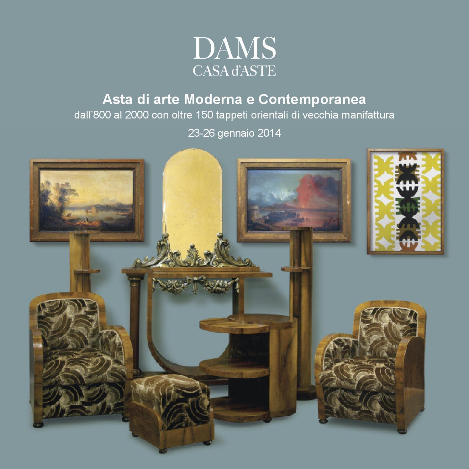 Asta di antiquariato e arte moderna a roma 1 6 luglio 2015 by dams ...