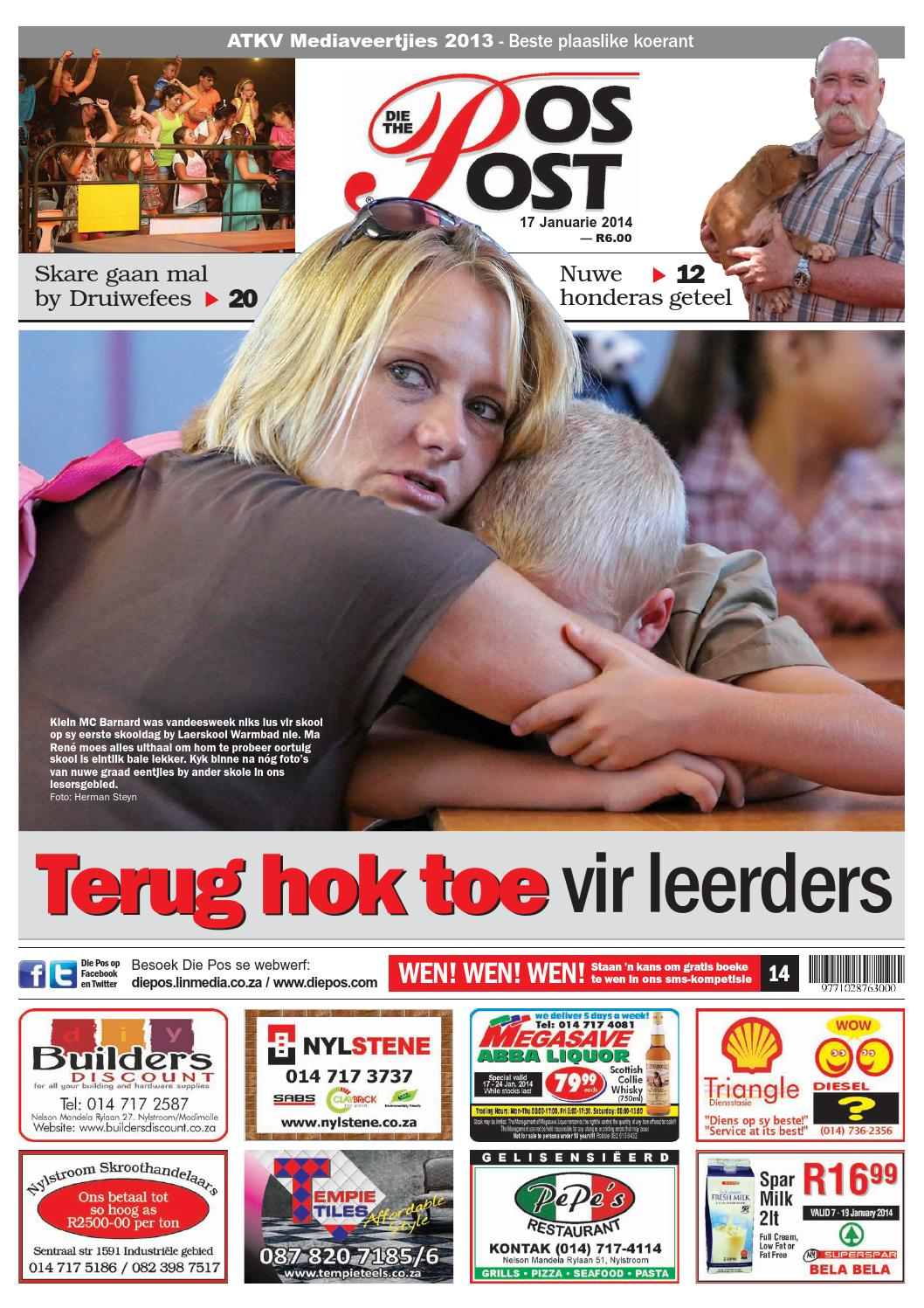 Die pos 10 oktober 2014 by die pos koerant/newspaper   issuu
