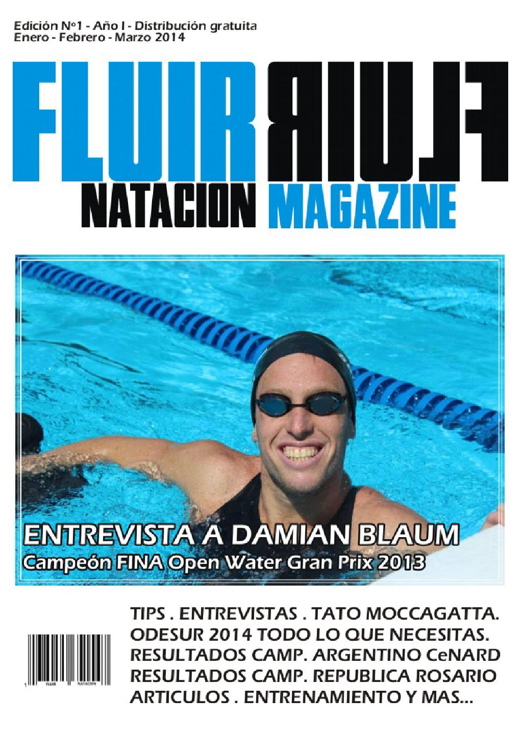 Revistafluirejemplaruno by Fluir Natacion - issuu