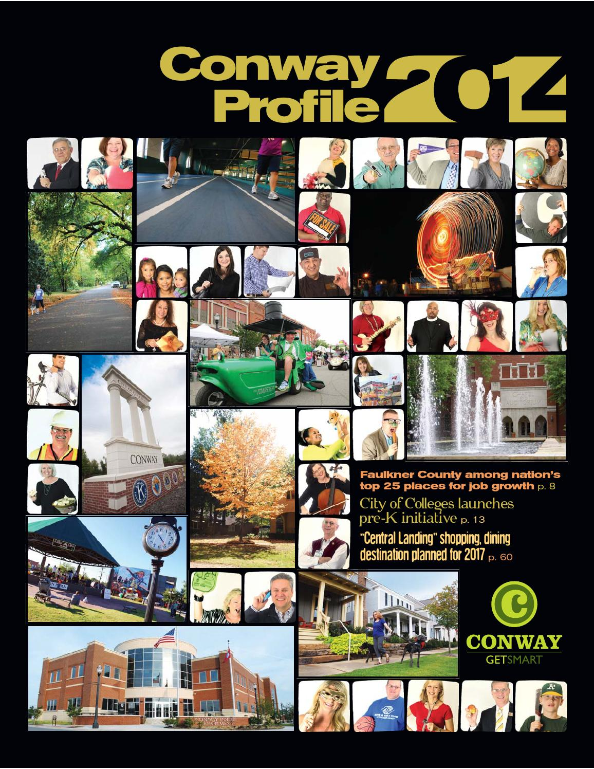 conway profile community profile resource guide by conway conway profile 2014 community profile resource guide by conway area chamber of commerce issuu